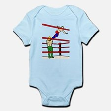 Wrestling Body Slam Onesie
