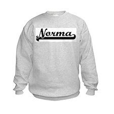 Black jersey: Norma Sweatshirt
