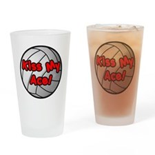Cute Volley Drinking Glass
