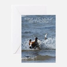 Birthday Card With Dog - Yay it's your birthday