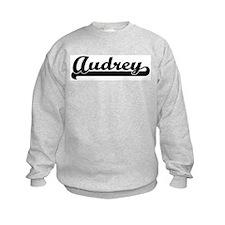 Black jersey: Audrey Sweatshirt
