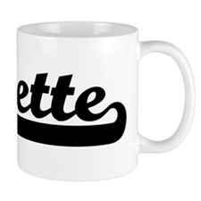 Black jersey: Lynette Coffee Mug