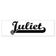 Black jersey: Juliet Bumper Bumper Sticker