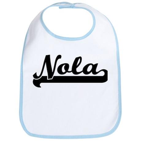 Black jersey: Nola Bib