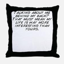 Cute Mean Throw Pillow
