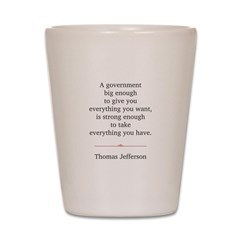 Thomas Jefferson Shot Glass