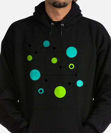 Lime & Teal Dot Dash Sweatshirt