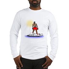 Boxing Knockout Long Sleeve T-Shirt