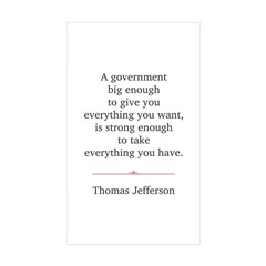 Thomas Jefferson Decal