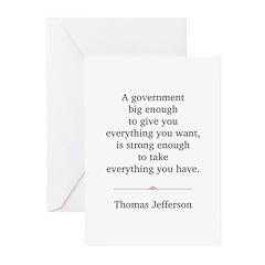 Thomas Jefferson Greeting Cards (Pk of 10)