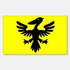 Flag of Syldavia Decal