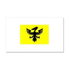 Flag of Syldavia Car Magnet 20 x 12