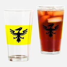 Flag of Syldavia Drinking Glass