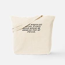 Unique I am alone Tote Bag