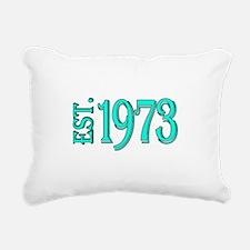 EST. 1973 Rectangular Canvas Pillow