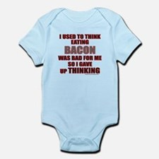 EATING BACON Infant Bodysuit