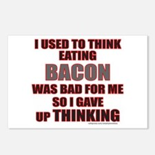 EATING BACON Postcards (Package of 8)