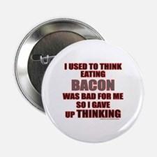 """EATING BACON 2.25"""" Button (100 pack)"""