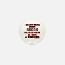 EATING BACON Mini Button (100 pack)