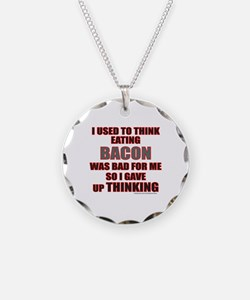 EATING BACON Necklace