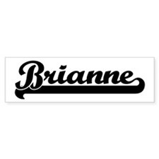 Black jersey: Brianne Bumper Bumper Sticker