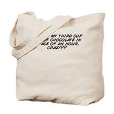 Crazy hours Tote Bag