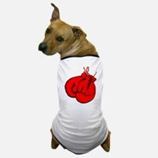 Red Boxing Gloves Dog T-Shirt