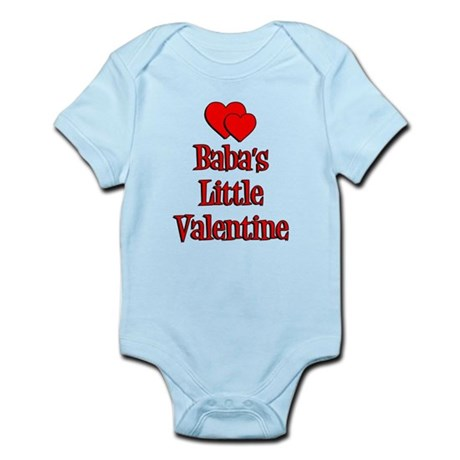 Babas Little Valentine Infant Bodysuit