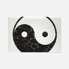 Yin Yang Rectangle Magnet