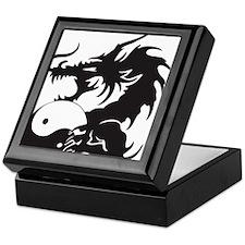 Yin Yang Dragon Keepsake Box