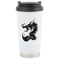 Yin Yang Dragon Travel Mug