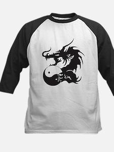 Yin Yang Dragon Kids Baseball Jersey