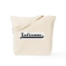 Black jersey: Julianne Tote Bag