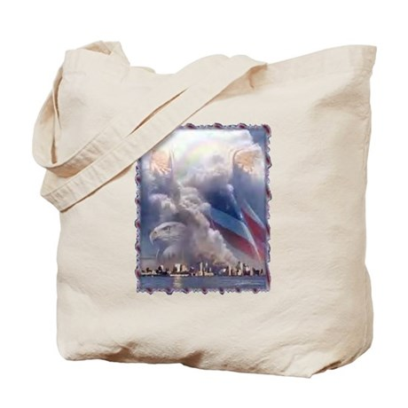 In God's Hands Tote Bag