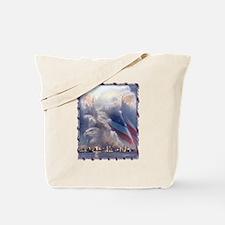 In God's Hands Tote Bag