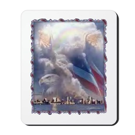 In God's Hands Mousepad