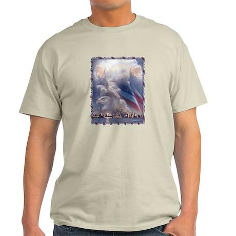 In God's Hands Ash Grey T-Shirt