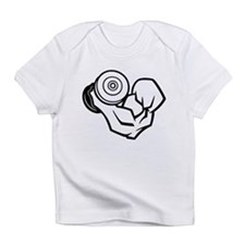Big Muscle Curl Infant T-Shirt
