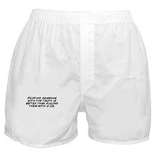 Cute Truth hurts Boxer Shorts