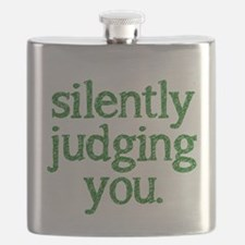Silently judging you Flask