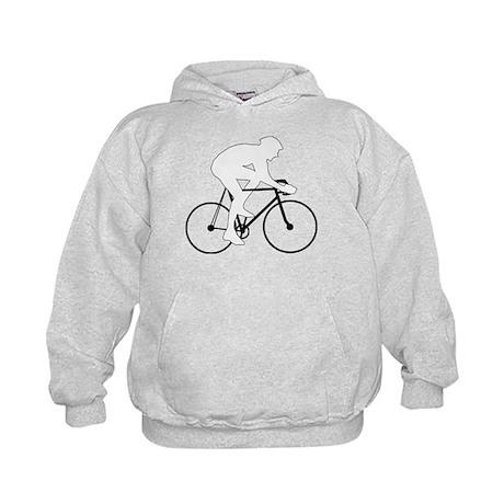 Cycling Silhouette Kids Hoodie