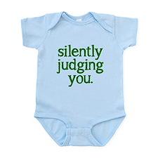 Silently judging you Infant Bodysuit