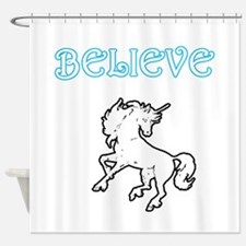 Unicorn Believe Shower Curtain