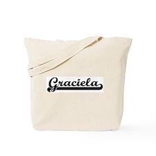 Black jersey: Graciela Tote Bag