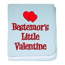 Bestemors Little Valentine baby blanket