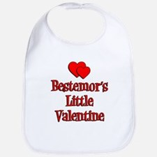 Bestemors Little Valentine Bib