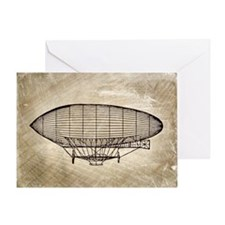 Dirigible Greeting Card