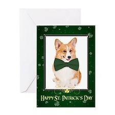 Corgi St. Patrick's Card
