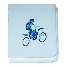 Dirt Biker baby blanket