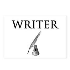 Writer Postcards (Package of 8)